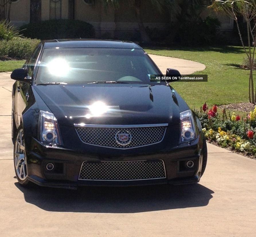 2009 Cadillac Cts V: 2009 Cadillac Cts V Sedan 4