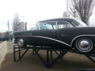 1956 Buick Special 2 Door Coupe,  Good Crome All The Way Around,  Interior, photo