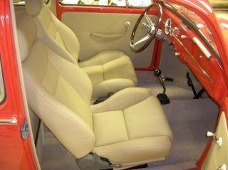 1966 Volkswagen Beetle - Resto / Show Vw Bug (no Bus) Porsche Red With Fuchs photo