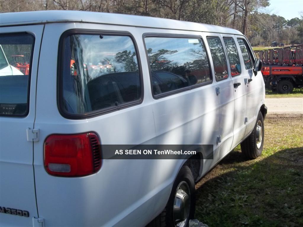 Reduced 1997 Dodge Ram 3500 Van 5 2l V8 Extend 15 Pssngr Van Church Van