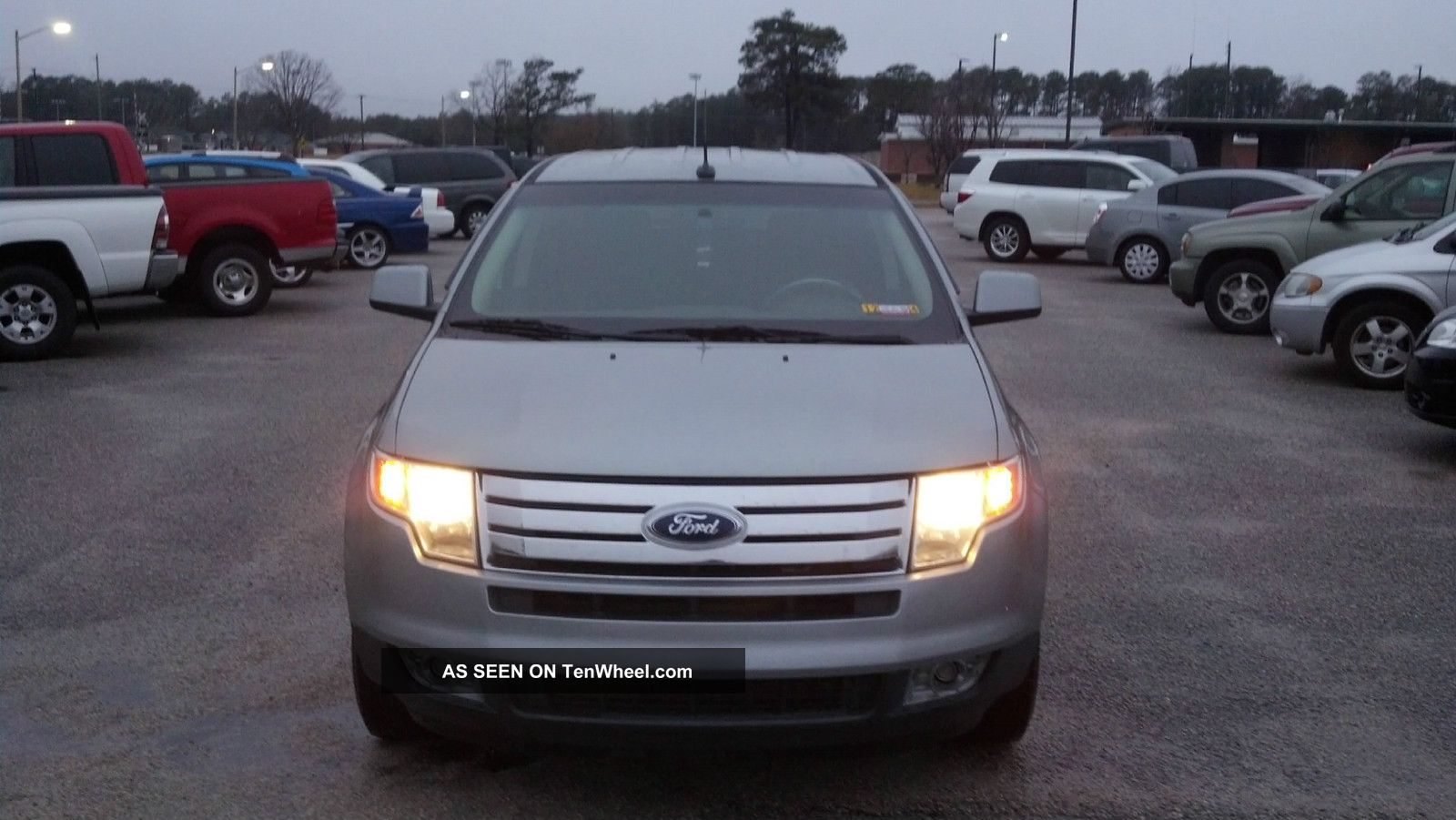 2007 Ford Edge Sel Sport Utility 4 - Door 3.  5l Edge photo