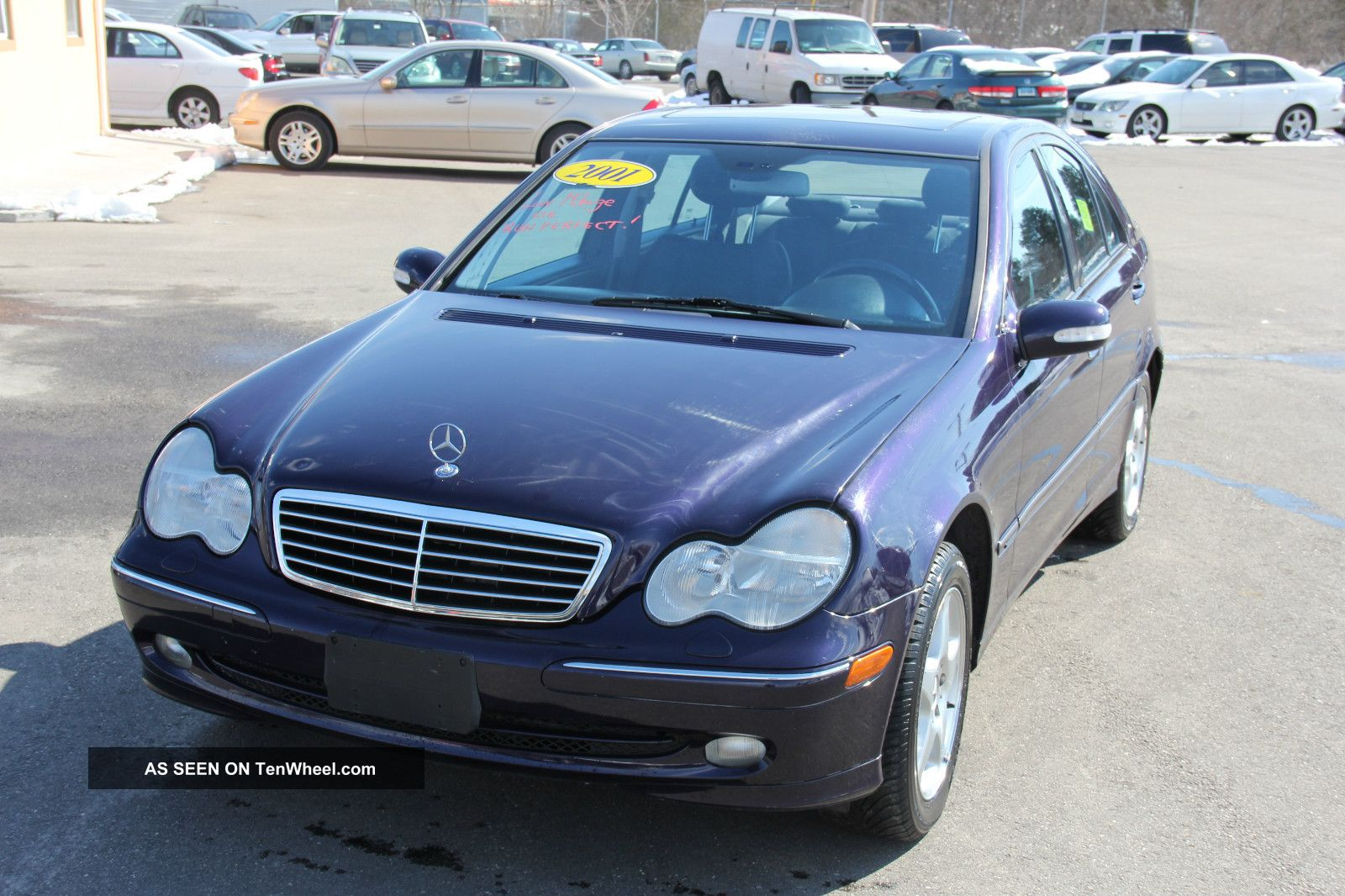 2001 mercedes benz c320 base sedan 4 door 3 2l. Black Bedroom Furniture Sets. Home Design Ideas