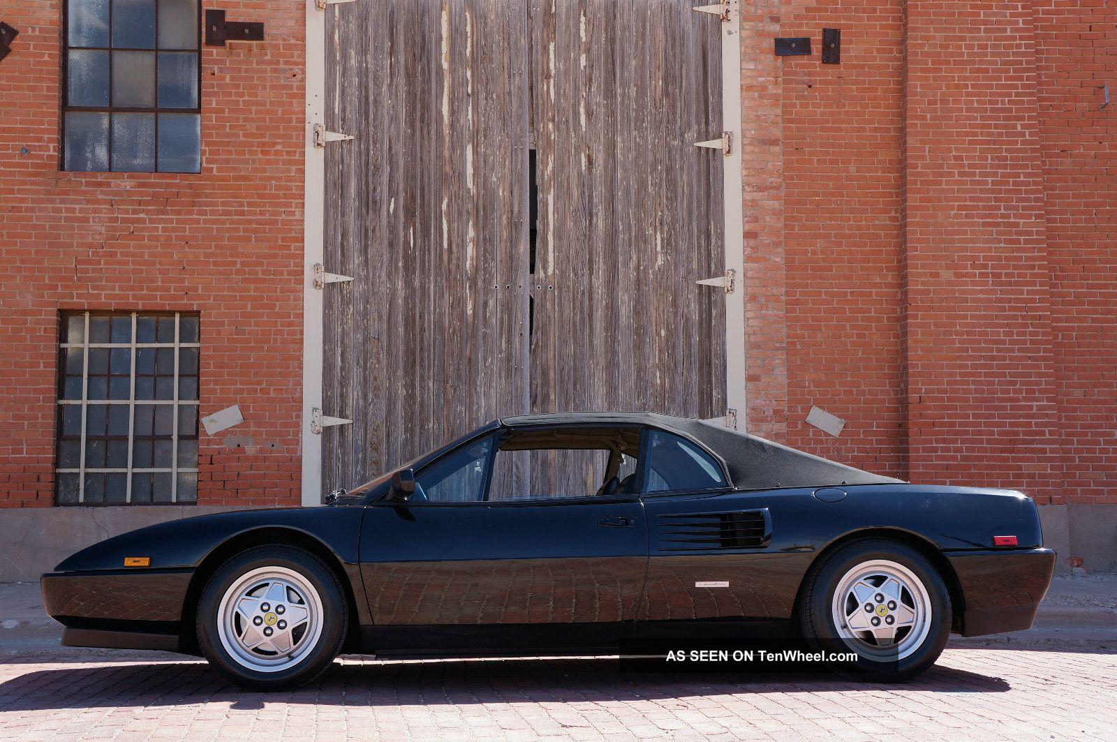 ferrari mondial vs 348 1995 ferrari mondial 348 t air black leather car photo and specs. Black Bedroom Furniture Sets. Home Design Ideas
