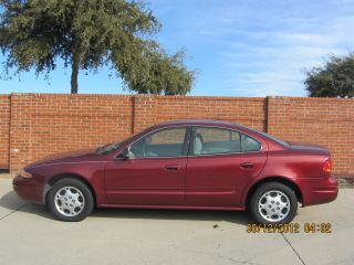 2003 Oldsmobile Alero Red; Everything Works Automatic photo