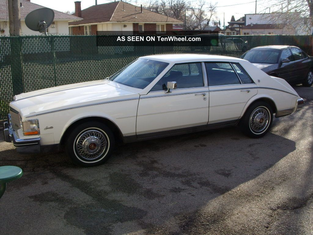 1985 cadillac seville base sedan 4 door 4 1l. Cars Review. Best American Auto & Cars Review