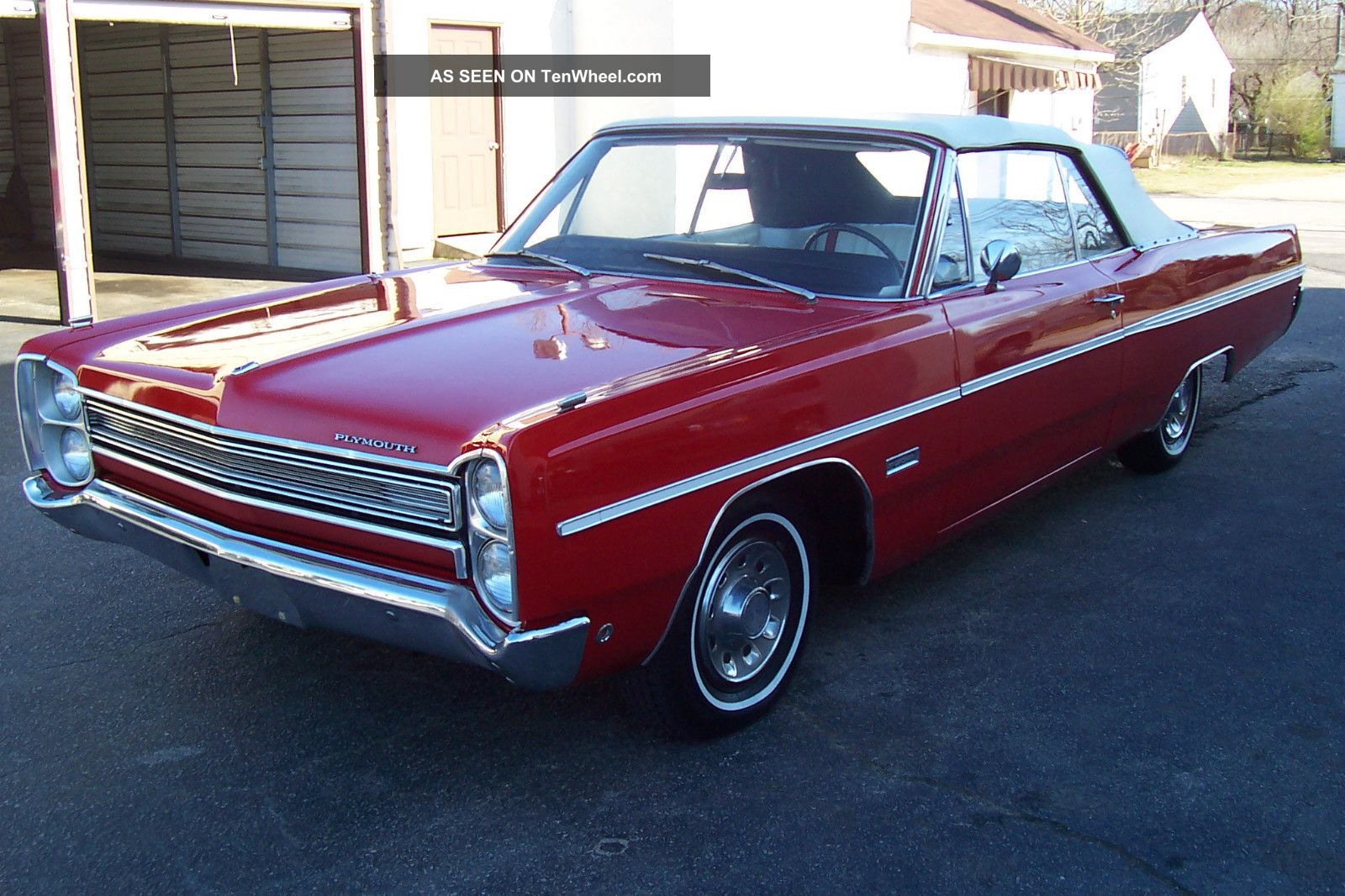 1968 Plymouth Fury Iii Convertible