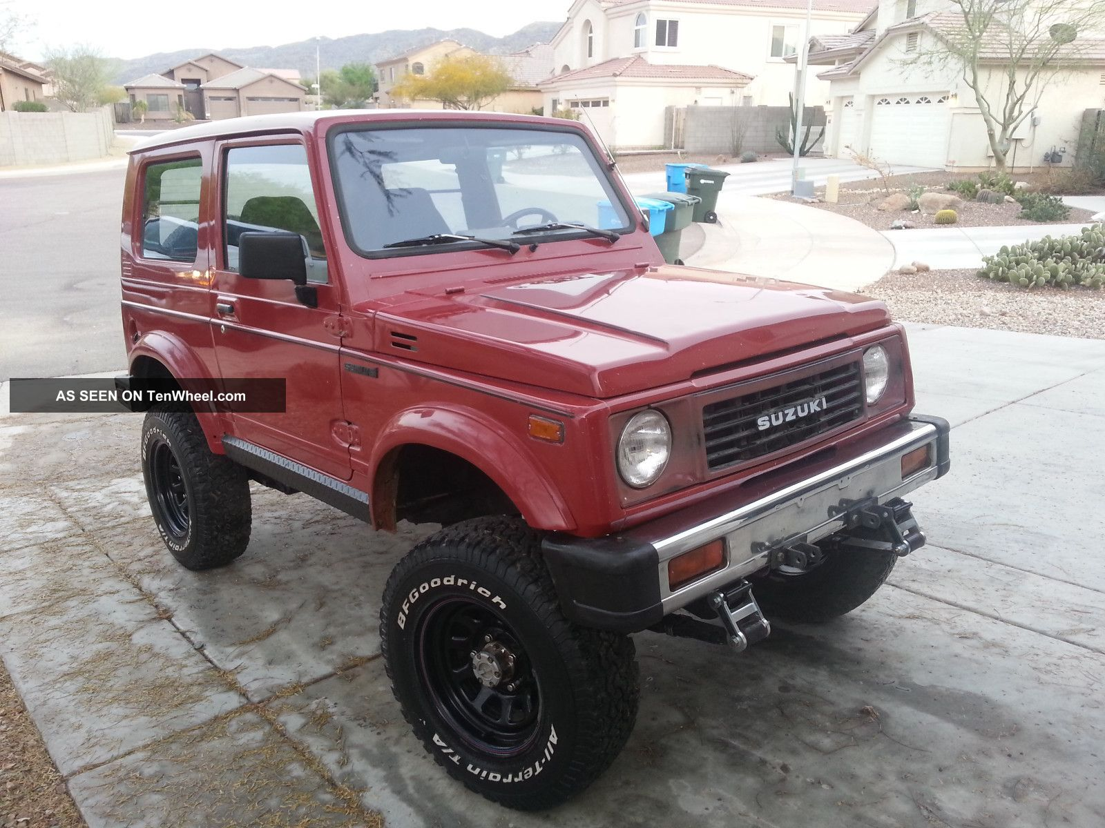 Suzuki Samurai Owners Manual