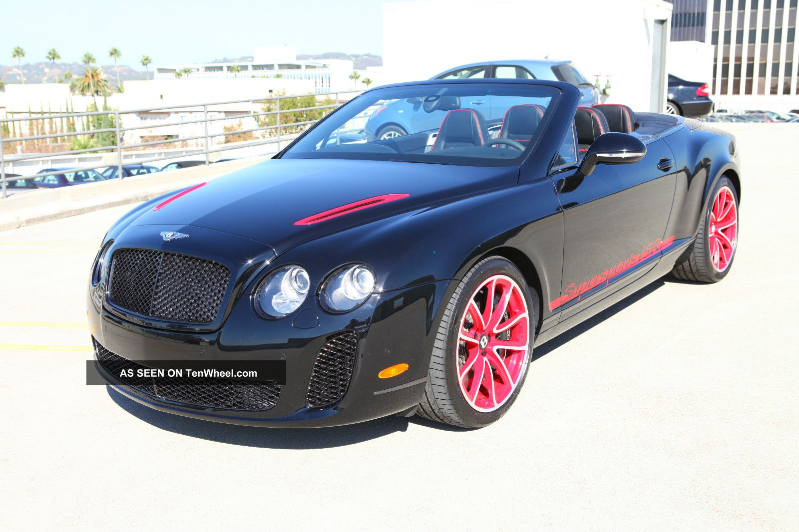 2012 Continental Supersports Convertible Isr Continental GT photo
