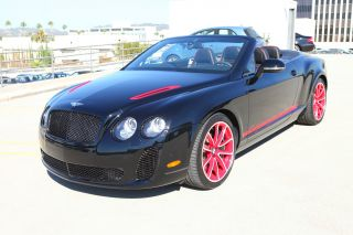 2012 Continental Supersports Convertible Isr photo