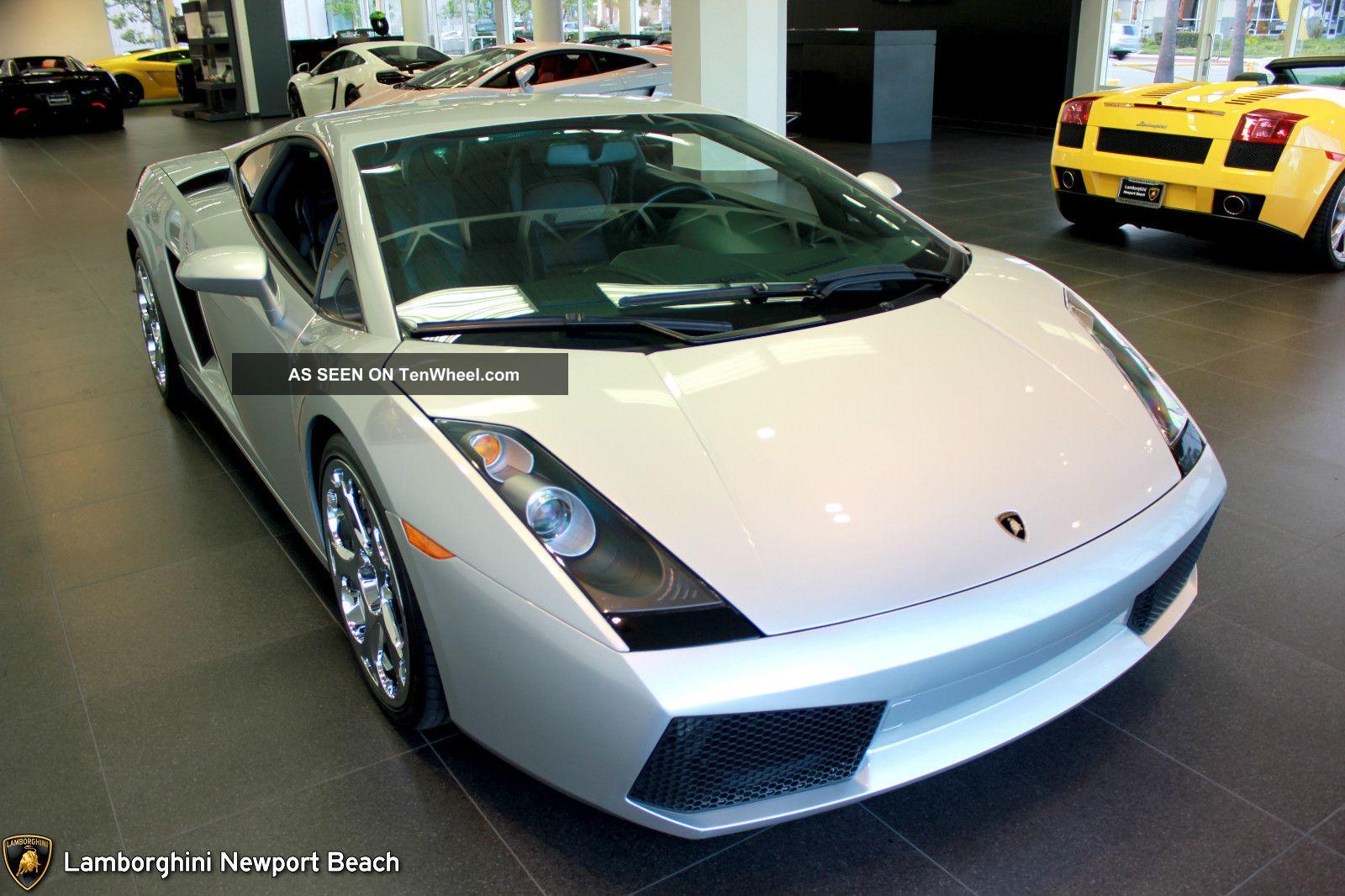 2004 Lamborghini Gallardo Base Coupe 2 Door 5. 0l Lambo Silver V10  #BC9D0F