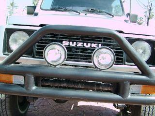 1988 Suzuki Samurai 4x4,  Convertible,  Rare Loaded Jx Model A / C And Tachometer photo