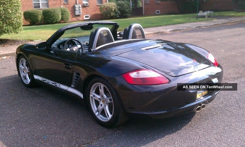 2008 Porsche Boxster S With Extended