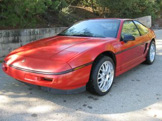 1988 Pontiac Fiero Gt 5 Speed,  Red,  120k photo