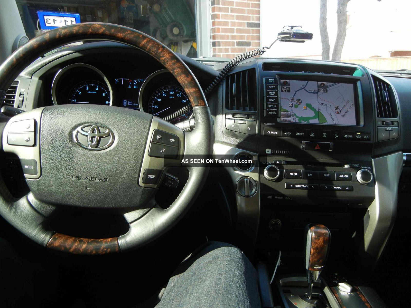 2011 Toyota Land Cruiser Sport Utility 4 - Door 5.  7l Land Cruiser photo