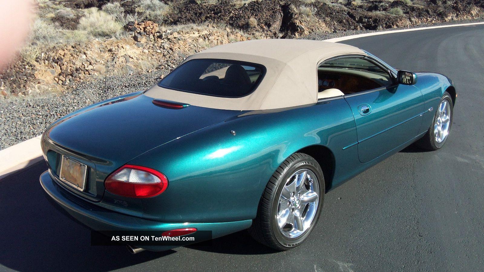 1998 Jaguar Xk8 Base Convertible 2 Door 4 0l