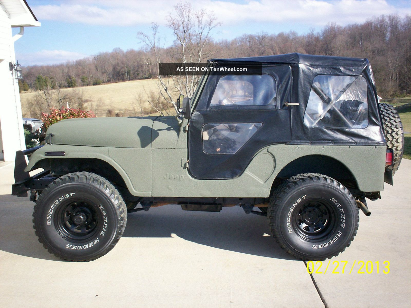 1977 Amc Jeep Cj5,  304 V8,  3 Speed,  Lifted,  33 ' S,  Bedlinered,  Great Daily Driver CJ photo