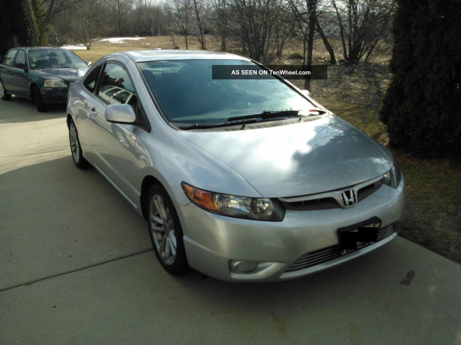 2008 honda civic si coupe 2 door with. Black Bedroom Furniture Sets. Home Design Ideas