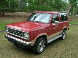 1988 Ford Bronco Ii Eddie Bauer Sport Utility 2 - Door 2.  9l photo