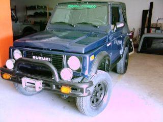 1986 Suzuki Samurai 4x4,  With Vw 1.  6 Litre Diesel Engine photo