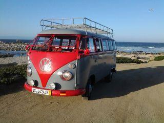 1967 Volkswagen Split Bus Transporter Type 2 11 Window photo