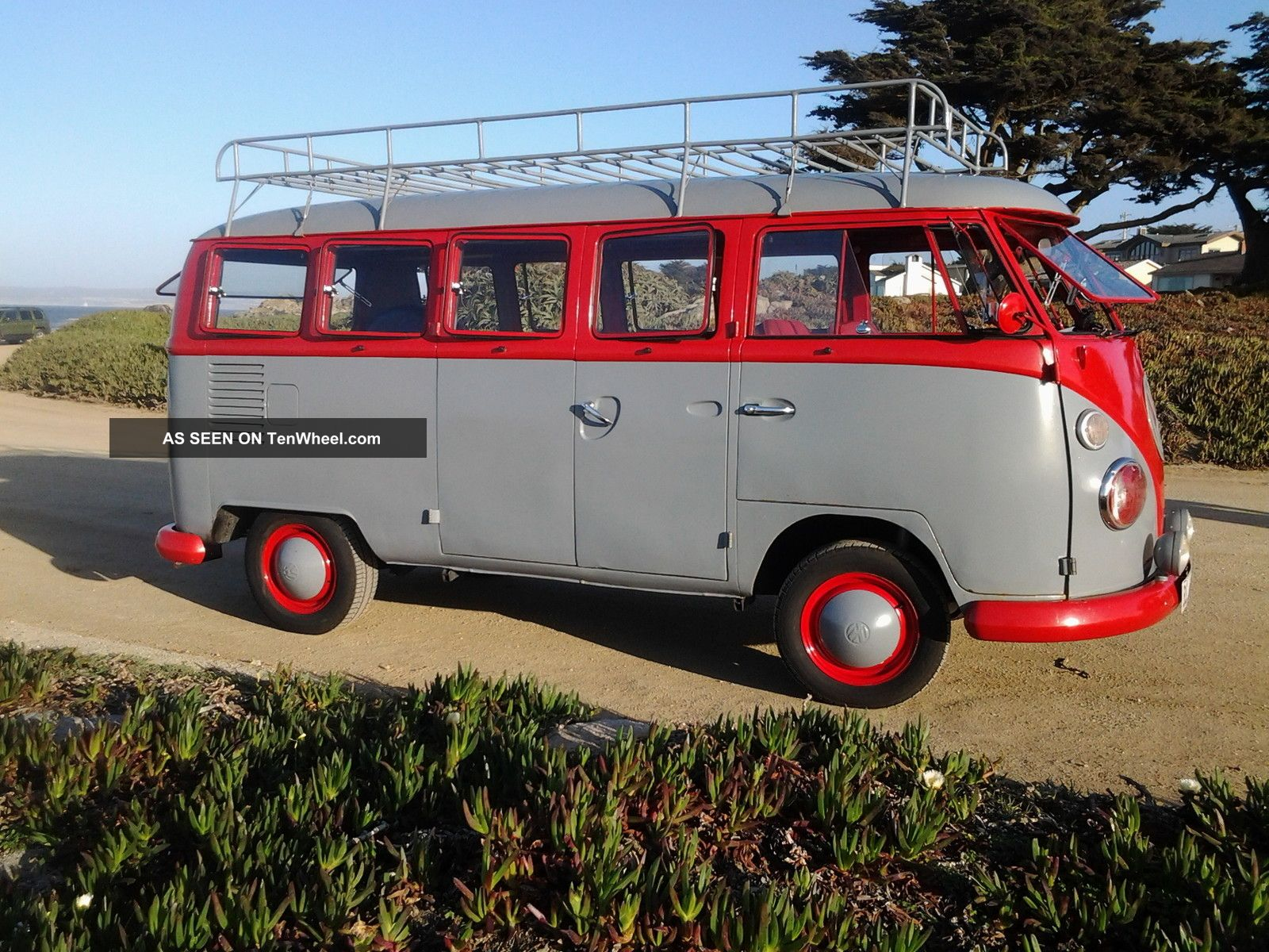 1967 volkswagen split bus transporter type 2 11 window for 1967 split window vw bus