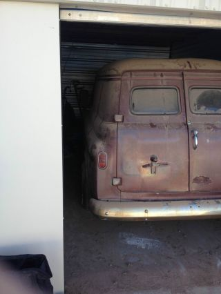 1958 Chevrolet Panel Truck Rare Awesome Rat Rod Hotrod photo