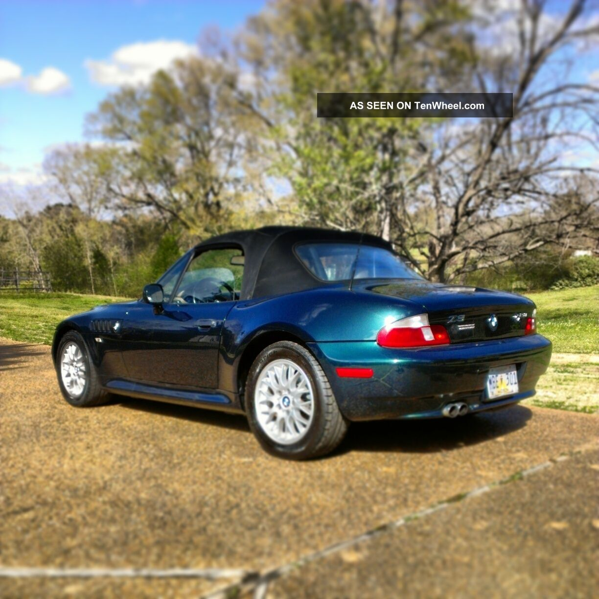 Bmw Z3 Colours: 3 Day Special 2000 Bmw Z3 Roadster Convertible 2
