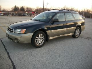 2002 Subaru Outback Awd With 5 Speed Manual Transmission Station Wagon photo