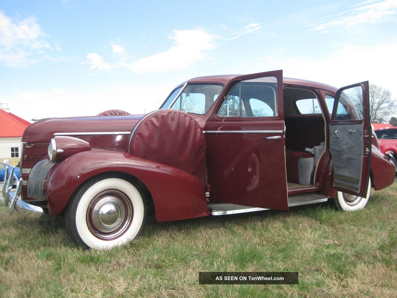 1939 Pontiac Deluxe 4 Door Touring Sedan P / S A / C Drives & Looks Excellent Other photo