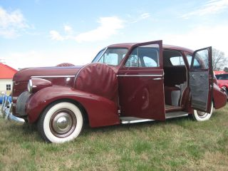 1939 Pontiac Deluxe 4 Door Touring Sedan P / S A / C Drives & Looks Excellent photo