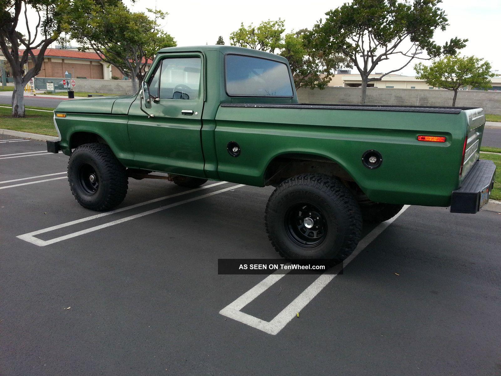 1975 Ford highboy truck