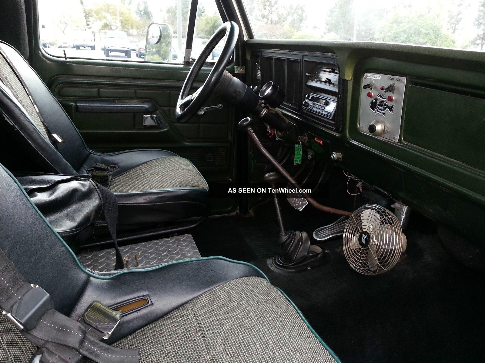 1975 Ford Highboy Interior Design 3d 1970 4x4 F100 Off Road Rust California Truck Rh Tenwheel Com