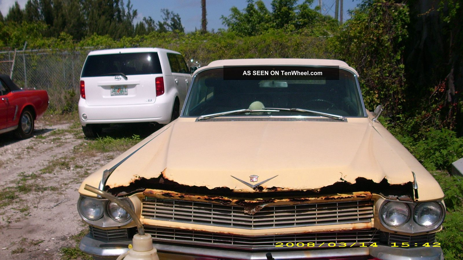 1964 Cadillac Yellow Color,  Engine, ,  Needs Body Work Make Offer Other photo