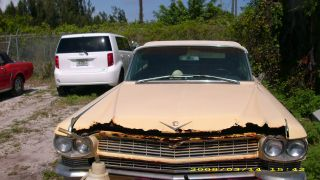 1964 Cadillac Yellow Color,  Engine, ,  Needs Body Work Make Offer photo