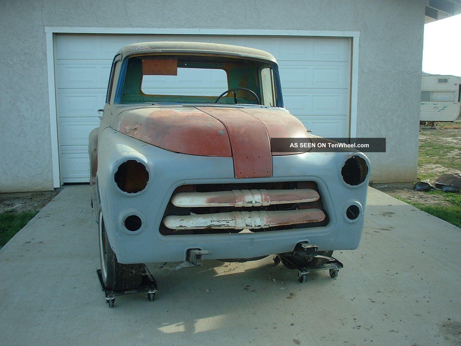 Gmc 1956 Big Window Pickup Truck V8 | Free Latest Truck Wallpapers