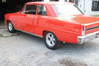 1967 Chevy Ii Nova 2 Dr Street Fast Car - Quick Hugger Orange photo
