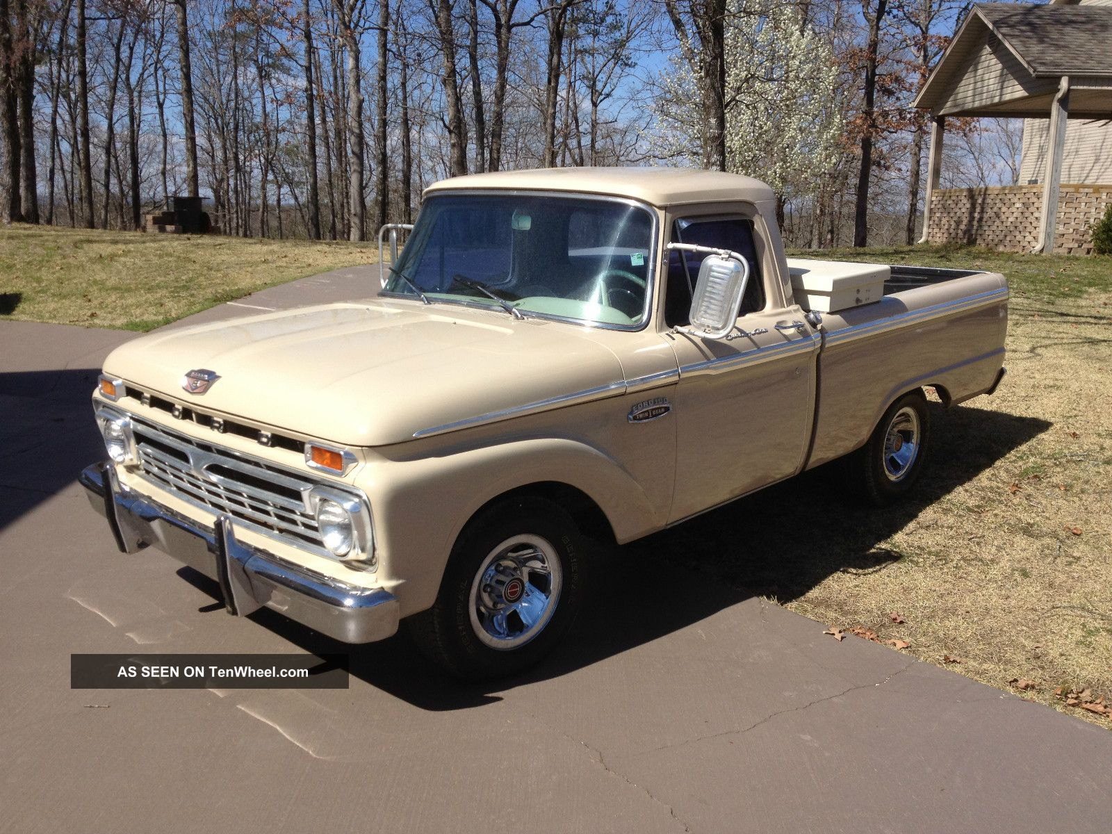 1966 F100 Owners Manual