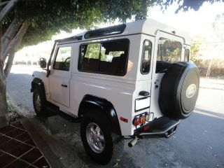 1995 Land Rover Defender 90 Base Sport Utility 2 - Door 3.  9l photo