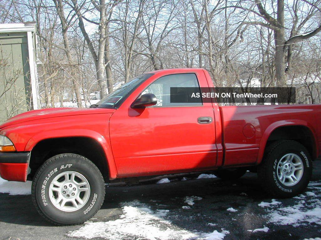 Dodge Dakota Sport Standard Cab Pickup Door L V X Red Lgw on Ram 3500 Sport Bull Bar