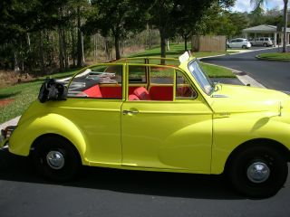 1965 Morris Minor 1000 Convertable photo