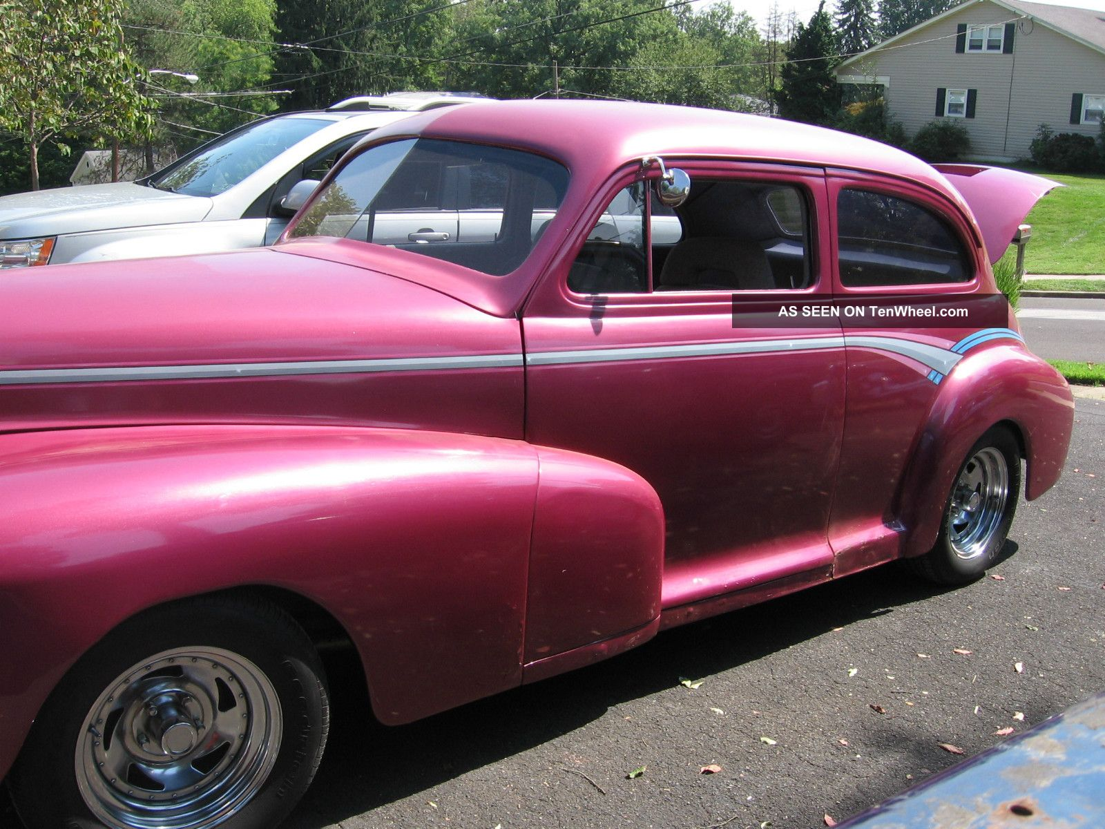 1947 chevy chevrolet sedan street rod for 1947 plymouth 4 door sedan