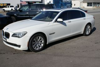 2009 Bmw 750li Base Sedan 4 - Door 4.  4l photo