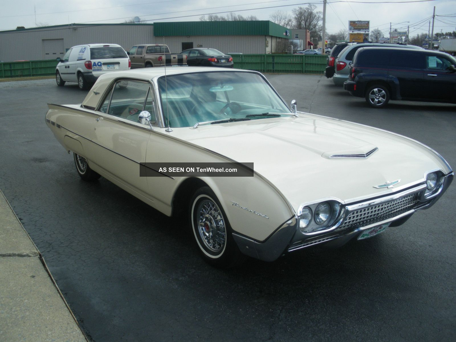 1962 Thunderbird Fuse Diagram Wiring Library Furthermore Of Unibody Car Frame Parts On Vehicle