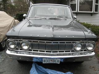 Last Chance For Vintage 1962 Mercury Comet S - 22 - Interior - Runs Well photo