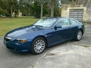 2005 Bmw 645ci Base Coupe 2 - Door 4.  4l photo