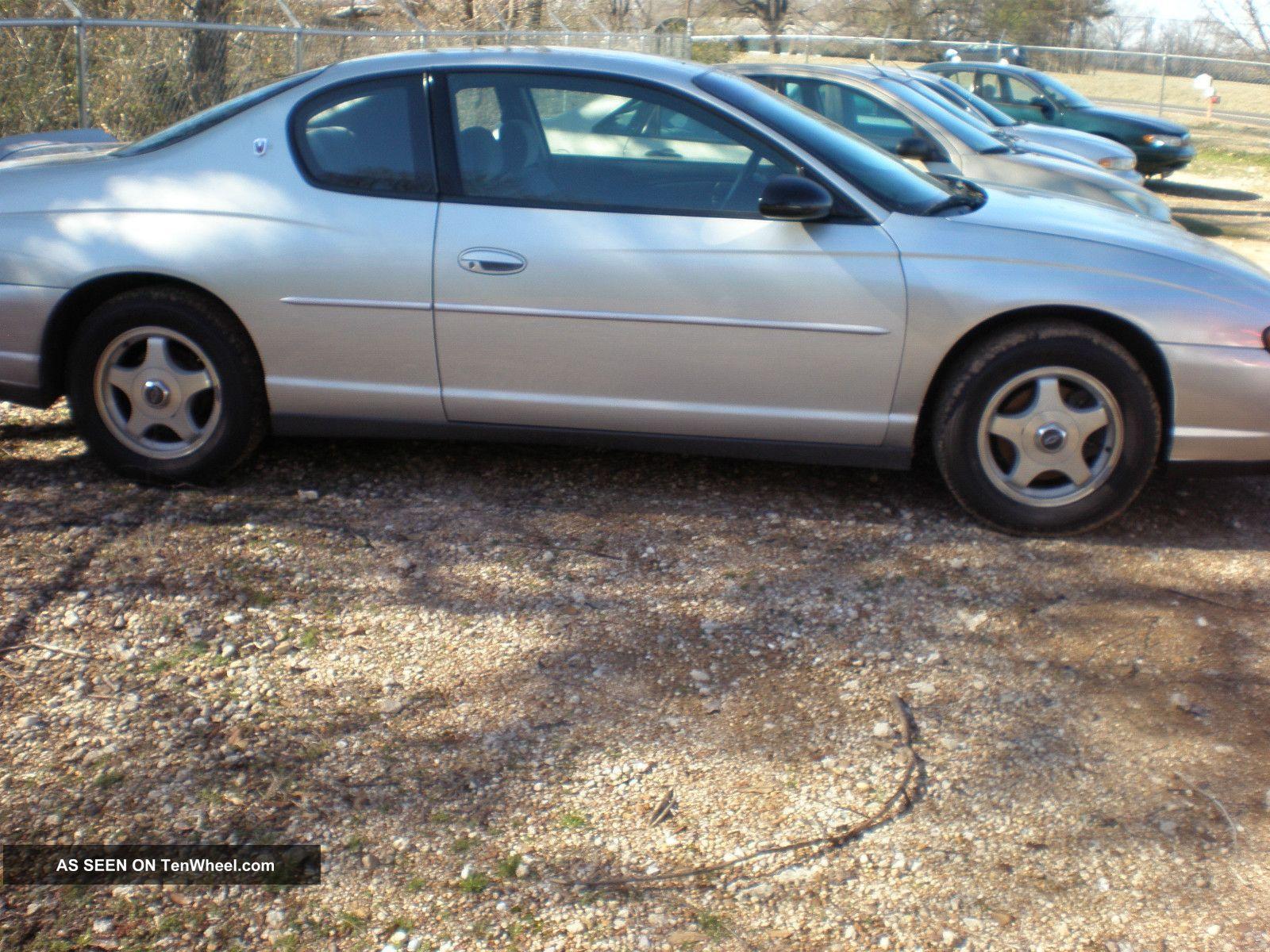 2002 Chevrolet Monte Carlo Ls Coupe 2 - Door 3.  4l Monte Carlo photo