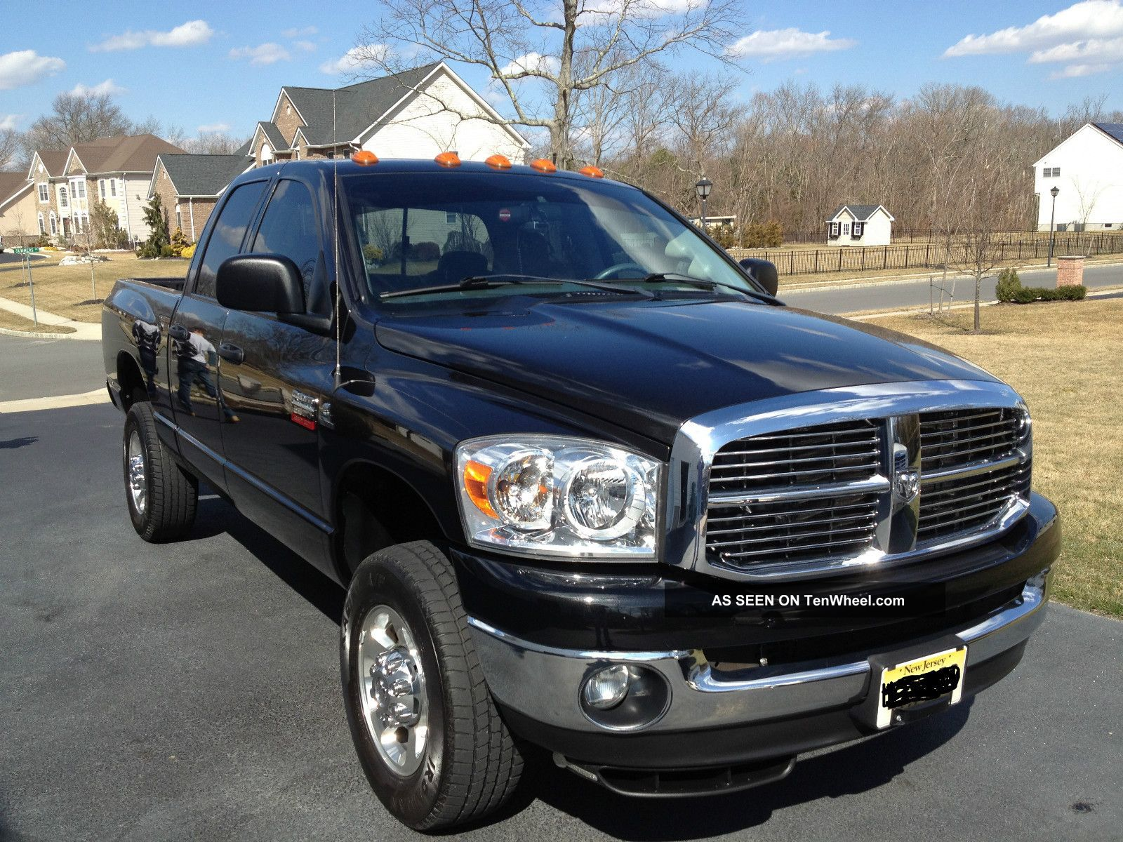 2008 dodge ram 2500 slt crew cab pickup 4 door 6 7l cummins turbo diesel. Black Bedroom Furniture Sets. Home Design Ideas
