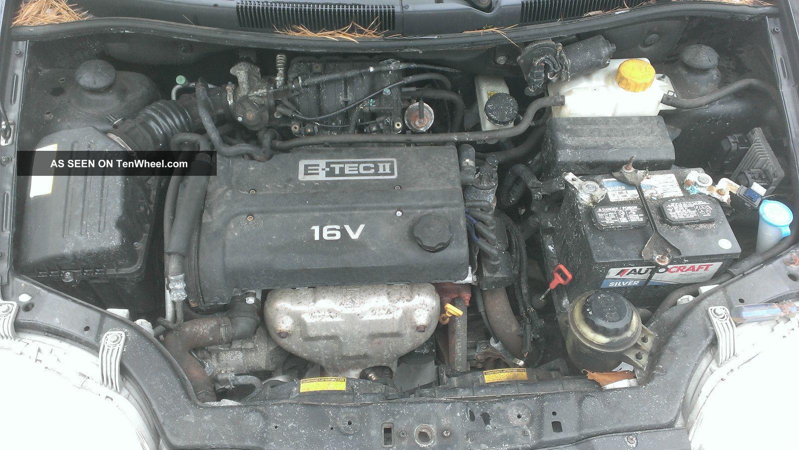 2004 Chevrolet Aveo Base Hatchback 4 Door 1 6l Wiring Harness