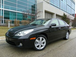 2005 Lexus Es 330 Lather,  Black On Tan, ,  4 Door. photo