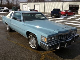 1977 Cadillac Coupe Deville Near Survivor photo